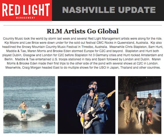 red light newsletter