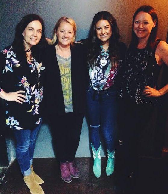Pictured (L-R): Lori McKenna, Liz Rose, Alyssa Micaela, Hillary Lindsey