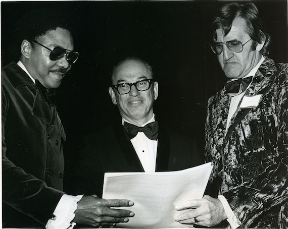 Pictured: Freddie North, Ed Cramer and Bob Tubert at the BMI Awards in 1972. Photo: BMI Archive