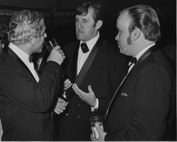 Pictured: Neil Anderson, Bob Tubert, Jack Grady in 1968. Photo: BMI Archives