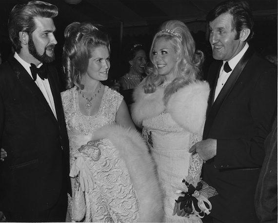 Glen Sutton, Lynn Anderson, Mr. & Mrs. Bob Tubert