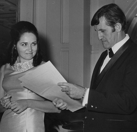 Pictured: Joy Byers, Bob Tubert. Photo: BMI Archives