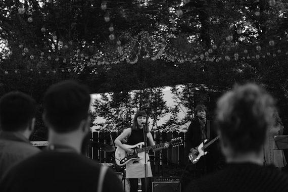 Blaire Alise & The Bombshells perform. Photo: Mary-Beth Blankenship