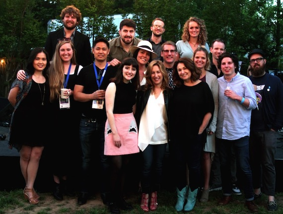 Pictured (L-R, Middle/Front): Katrina Tsang, Carlin Nashville; Abbey Hickman, We Are Walker; Brian Naguit, CBS; Blaire Alise, Blaire Alise & The Bombshells; Anastasia Brown, Format Entertainment; Julia Michels, Format Entertainment; Jeff Gordon, Carlin Nashville; Kaylin Frank, Disney; Justine von Winterfeldt, Format Entertainment; Aaron Mercer, Wool & Tusk; Nick Maker, Energy BBDO; Toddrick Spalding, Mob Scene; (L-R Back): Gideon Klein, Blaire Alise & The Bombshells; Nick Keenan, Leo Burnett; Nick Swafford, Blaire Alise & The Bombshells; Jessie Key Blaire Alise & The Bombshells. Photo: Carlin Nashville