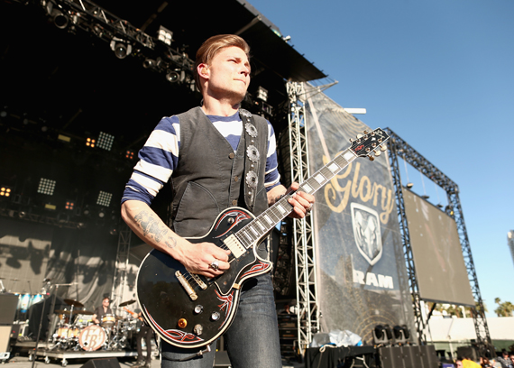 """LAS VEGAS, NEVADA - APRIL 02: Singer Frankie Ballard performs onstage at the 4th ACM Party for a Cause Festival at the Las Vegas Festival Grounds on April 2, 2016 in Las Vegas, Nevada. (Photo by Christopher Polk/Getty Images for ACM)"""