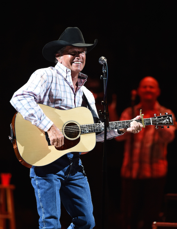 George Strait performs at T-Mobile Arena in Las Vegas. Photo: Ethan Miller/Getty Images for Essential Broadcast Media
