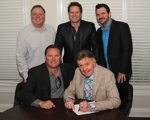 Pictured (L-R): Kirt Webster, Bob Kinkead, Gregory Scott, Bill Anderson, Lee Willard