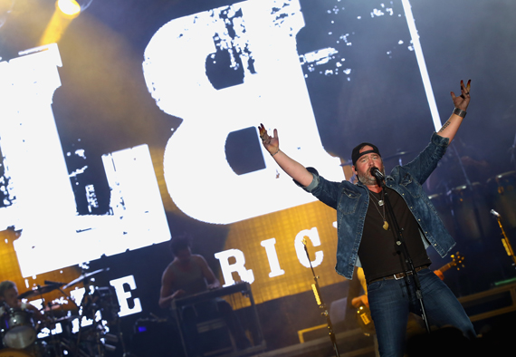 """LAS VEGAS, NEVADA - APRIL 02: Singer Lee Brice performs onstage at the 4th ACM Party for a Cause Festival at the Las Vegas Festival Grounds on April 2, 2016 in Las Vegas, Nevada. (Photo by Mark Davis/Getty Images for ACM)"""