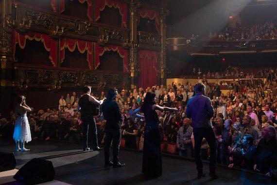 The cast of ABC's 'Nashville' performs. Photo: Chris Hollo