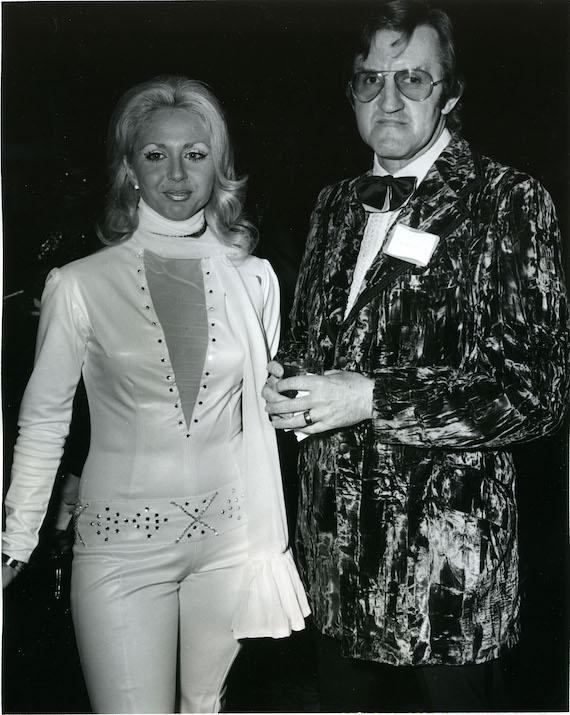 Pictured: Demetriss Tapp, Bob Tubert at the BMI R&B Awards in 1972. Photo: BMI Archive