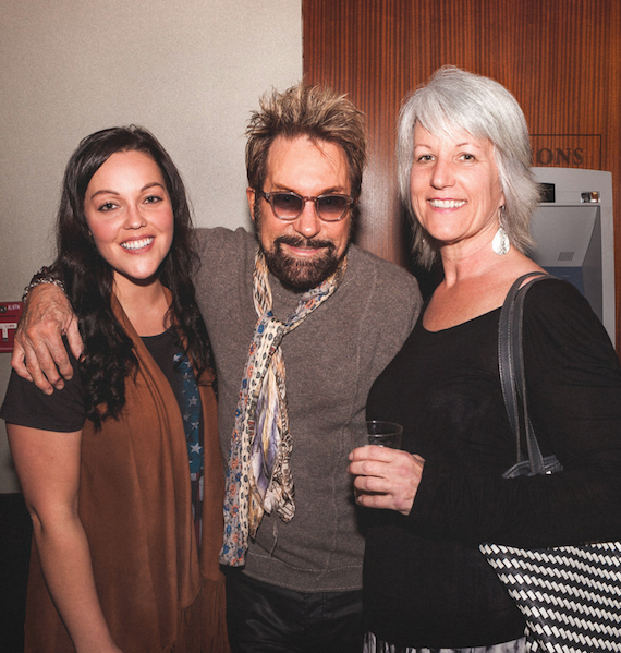 Pictured (L-R): Heidi Raye, Tony Brown, and Melanie Howard