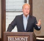 Troy Tomlinson Accepts Belmont University Award Of Excellence