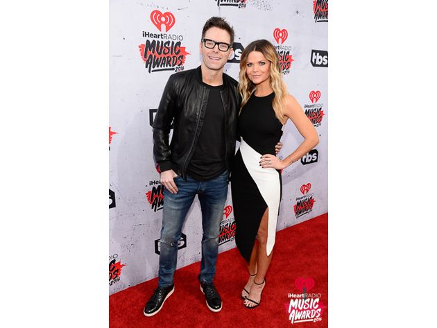 Bobby Bones and Amy at iHeartRadio Music Awards. Photo: iheart.com/Getty Images