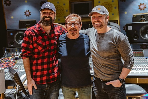 Pictured (L-R): Mac Powell, Byron Gallimore, Craig Morgan