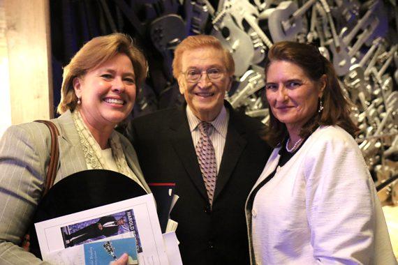 Pictured (L-R): Becky Judd; Harold Bradley; event co-chair Pamela Davis Needham