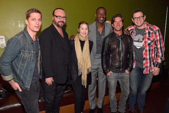 """Pictured (L-R): Singer-songwriter Rob Thomas, musician Desmond Child, singer Suzanne Vega, singer-songwriter Brian McKnight, songwriters Brett James and Kevin Kadish attend the 2016 ASCAP """"I Create Music"""" EXPO. Photo: Lester Cohen/Getty Images for ASCAP"""