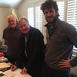 Pictured (L-R): Dan Hodges, Buzz Cason, Parker Cason