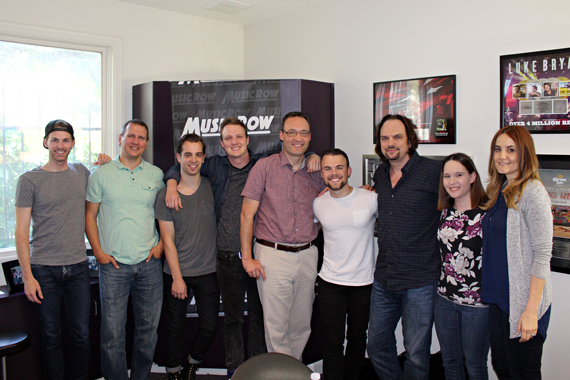 Sammy Arriaga with MusicRow staff.