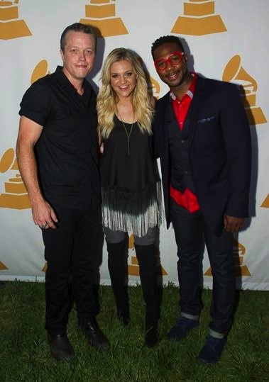 Jason Isbell, Kelsea Ballerini, Robert Randolph. Courtesy of The Recording Academy/photo by Ed Rode/WireImage.com