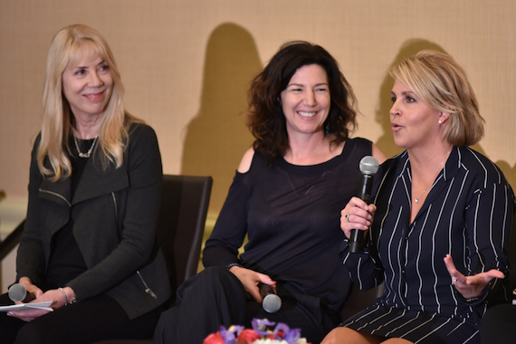 Pictured (L-R): Candace Berry, Christina Calio, Kelly Rich. Photo: Music Biz