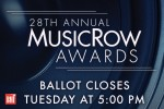 2016 MusicRow Awards: Voting Closes Today At 5 P.M.
