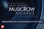 2016 MusicRow Awards: Breakthrough Songwriter Of The Year Nominees