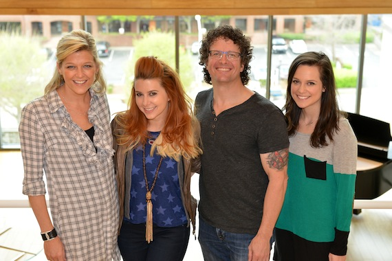 Pictured (L-R): SESAC's Shannan Hatch, Levin, Parallel's Tim Hunze and Hannah Showmaker. Photo: Peyton Hoge