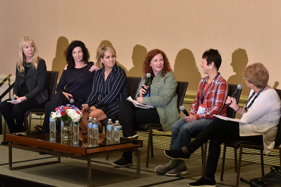 Pictured (L-R): Candace Berry, Christina Calio, Kelly Rich, Amy Dietz, Dilyn Radakovitz, Deborah Newman.