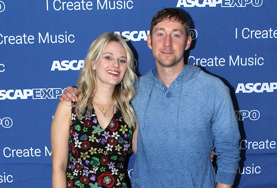 """ASCAP Creative Director Beth Brinker (L) and songwriter Ashley Gorley attend the 2016 ASCAP """"I Create Music"""" EXPO. Photo by Maury Phillips/Getty Images for ASCAP"""