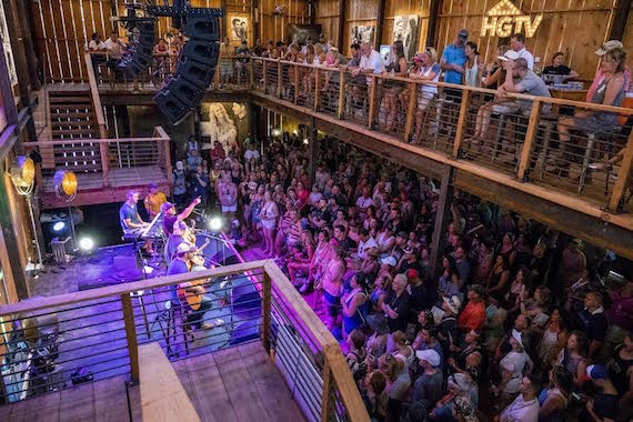 ​Pictured: The ASCAP Hit Songwriters Round at the HGTV Lodge during CMA Music Festival