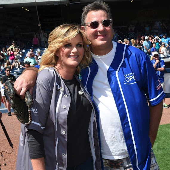 Trisha Yearwood and Vince Gill. Photo: John Shearer/Getty Images for City of Hope