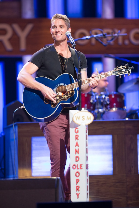 Brett Young. Photo Credit: Chris Hollo/Grand Ole Opry