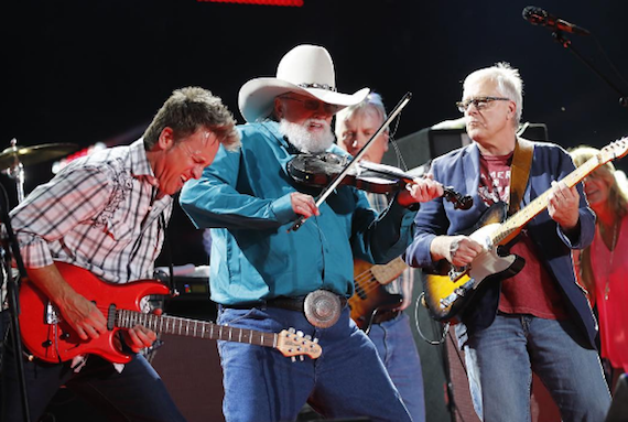 The Charlie Daniels Band performs at CMA Music Festival 2016. Photo: CMA/Instagram