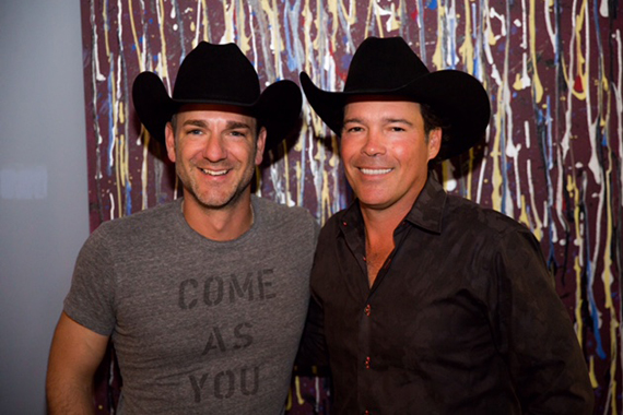 Pictured (L-R): Craig Campbell and Clay Walker.
