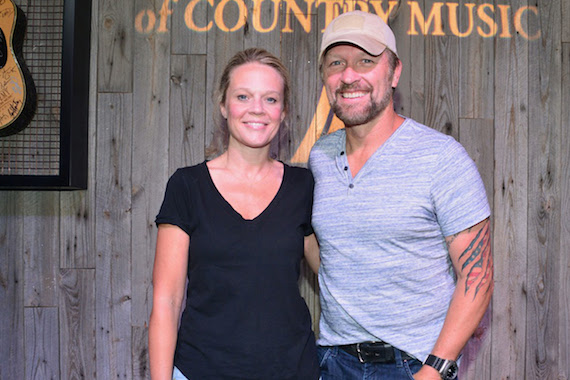 Pictured (L-R): Tiffany Moon, ACM and Craig Morgan. Photo: Michel Bourquard/Courtesy of the Academy of Country Music