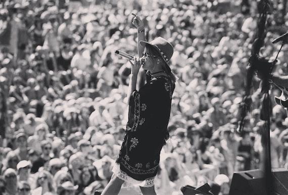 Maren Morris performs at CMA Music Festival's Riverfront Stage. Photo: Maren Morris/Instagram