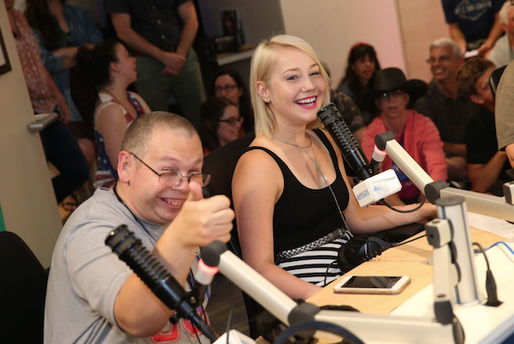 RaeLynn takes part in a Q&A session for ACM Lifting Lives Music Camp. Photo: Getty Images