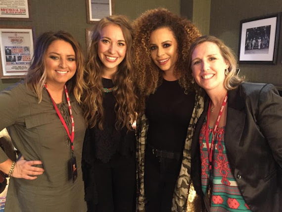Pictured (L-R): Kendra Flack, Lauren Daigle, Blanca, Leigh Holt