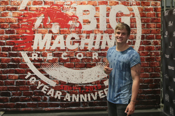Levi Hummon. Photo: Natasha Moustache/CMA