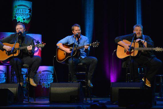 Pictured (L-R): Josh Osborne, Shane McAnally, Craig Wiseman.