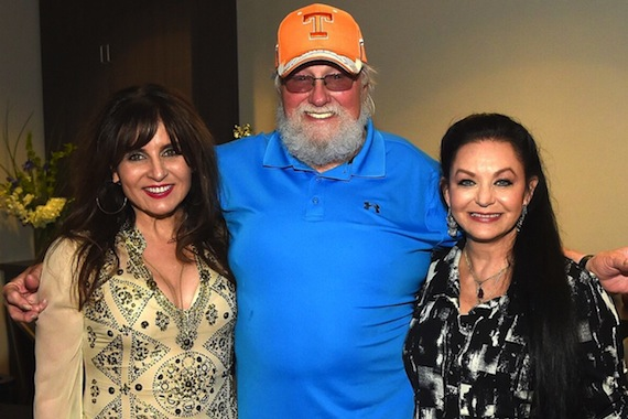 Pictured (L-R): Deborah Allen, Charlie Daniels, Crystal Gayle. Photo: Rick Diamond/Getty Images for APA