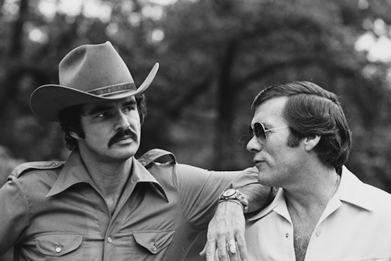 Pictured (L-R): Burt Reynolds, Hal Needham
