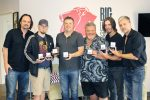 Big Loud Shirt Songwriters Receive MusicRow No. 1 Challenge Coins