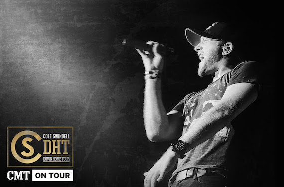 Cole Swindell Down Home Tour CMT Presents