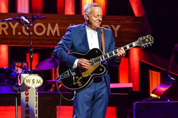 "Tommy Emmanuel plays ""Dark Eyes"" on the Grand Ole Opry. Photo: Courtesy Katelyn Prieboy"