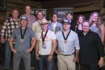 "Dustin Lynch, Songwriters Toast Good Fortunes Of ""Mind Reader"""