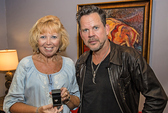 Gary Allan & Renee Wray, Aug. 26, 2016 Photo: Eric Adkins