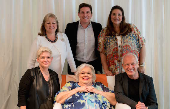 Pictured (back row, L-R): Sheila Shipley Biddy, Director of Operations, Music Health Alliance; John Zarling, event co-chair and SVP/Partnership Marketing & Promotion Strategy, BMLG; Tatum Hauck Allsep, Founder & Executive Director, Music Health Alliance. (Front row, L-R): Heather McBee, event co-chair and VP/Accelerator Programming, Nashville Entrepreneur Center; Music Row Storytellers honoree Hazel Smith; Maurice Miner, event co-chair of Maurice Miner Media & Marketing