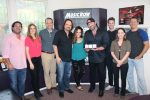 Lee Brice Accepts Three MusicRow No. 1 Challenge Coins