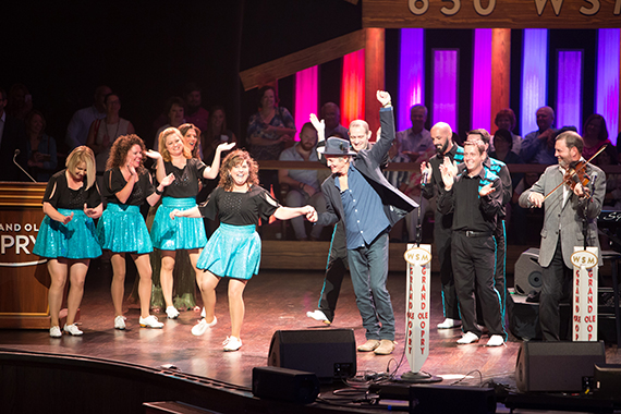 Rodney Crowell joins the legendary Opry Square Dancers for their traditional Saturday night performance.